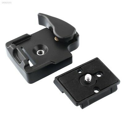 6247AA8 323 Quick Release Adapter For Camera DSLR with 200PL-14 QR Plate black