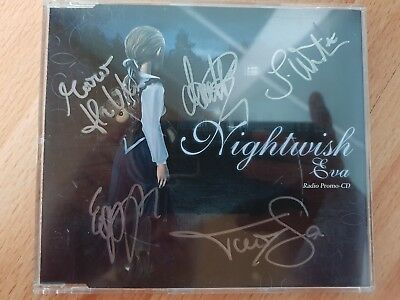 Nightwish, EVA Promo Single, Handsigniert