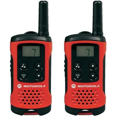 4km Motorola TLKR T40 2 Way Walkie Talkie Compact Set PMR 446 Radio Kit