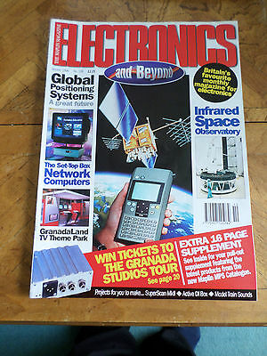 The Maplin Magazine Electronics And Beyond #106 Oct 1996 Photo Shows Content