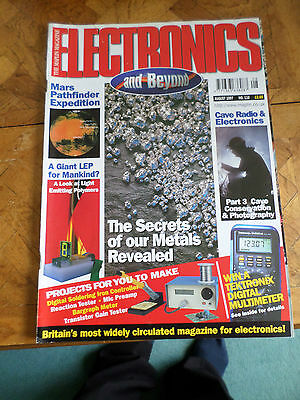 The Maplin Magazine Electronics And Beyond #116 Aug 1997 Photo Shows Content