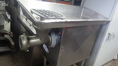 Freddy Hirsch meat mincer grinder MASSIVE SIZE 52 TRIPLE CHAIN DRIVE 3 PHASE