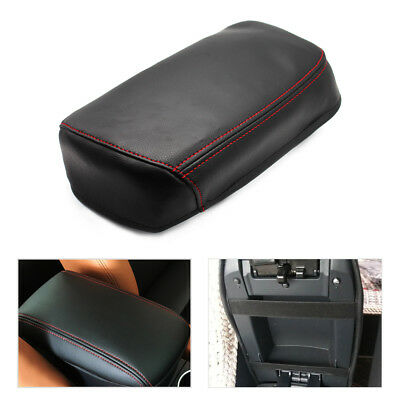 Micro Leather Center Console Armrest Box Protection Cover for Toyota RAV 4 06-15