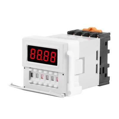 AC/DC 24-240V Digital Cycle Time Minuterie Relais Temporisé Commutateur Retard