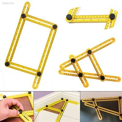 1004029 Multi Purpose Folding Rule Measuring Tools Multi-Angle Scale Four Sides
