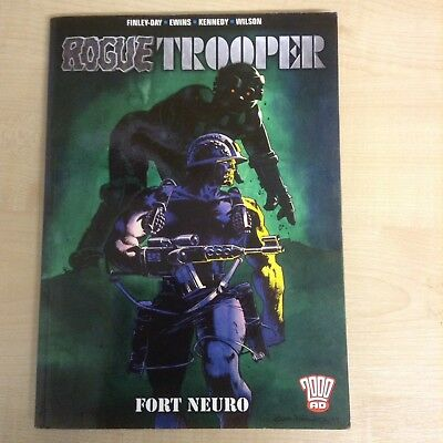 Rogue Trooper, Fort Neuro ,2000AD , (paperback 2005) By Gerry Finley-Day