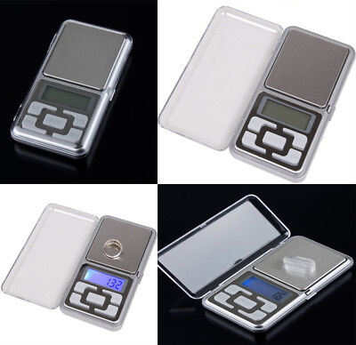 Pocket Digital Scales Jewellery Gold Weighing Mini LCD Electronic 0.1g 500g DD