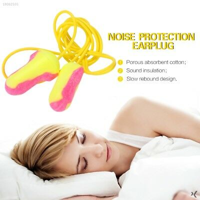 02A938F 1pair Portable Prevent Noise Hearing Protection Resusable Earplug Baby