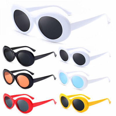 Hot and Fashion Unisex Clout Goggles Sunglasses Oval Shades Grunge Glasses