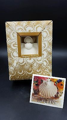 "Margaret Furlong 1986 Porcelain ""Heart Angel""  Christmas Ornament"