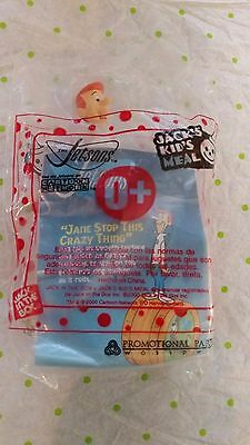 JACK IN THE BOX KID'S MEAL THE JETSON'S JANE STOP THIS CRAZY THING under 3 toy