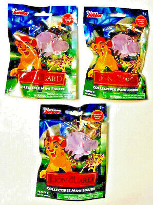 Disney Junior The Lion Guard Series 3 Collectible Lot of 3 packs deal New sealed