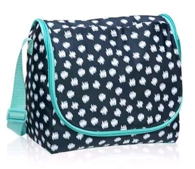 thirty-one Going Places Thermal in Navy Doodle Dot NEW