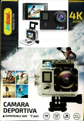 Go Sport VIDEOCAMERA  FULL HD1080P ACTION  SUBAQUEA 30MT + MEMORY CARD 16 GB