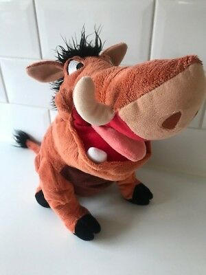Disney Pumbaa (from Lion King) soft toy