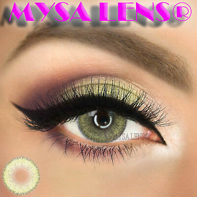Super Natural Colored Contact Lenses Kontaktlinsen Lens 1 Year Diva Butter