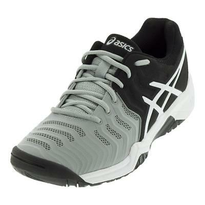 and Tennis 7 ASICS Resolution JUNIORS` Gel Mid Shoes Gray QtshdrC