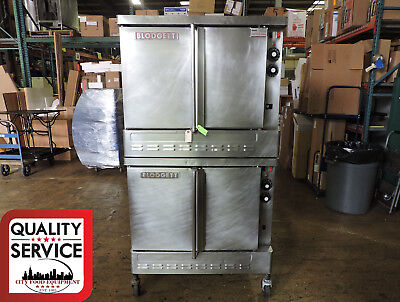 Blodgett SH1G/AB Commercial Double Gas Convection Oven
