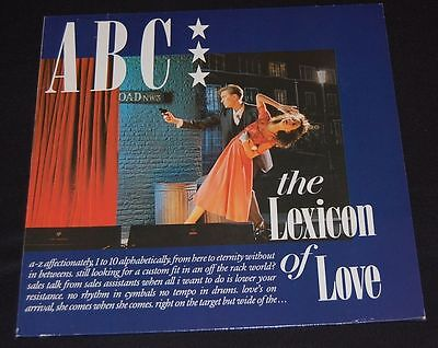 12'' LP * Vinyl * ABC * the Lexicon of Love * near mint!