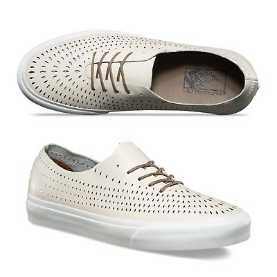 4ecc2aabb2 Vans Authentic One Pie Havana Perf Turtledove Men s Classic Skate Shoes Size  13