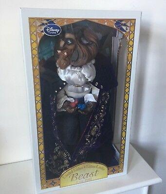 "Winter Beast Limited Edition Doll 17"" Disney Belle Beauty And The Beast"