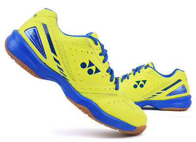 Yonex Unisex Badminton Shoes Power Cushion 30 Yellow Blue Racquet NWT SHB-30EX