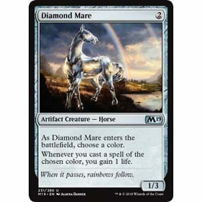 MTG Core Set 2019 * Diamond Mare