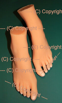 Silicone Feet Models of woman's feet - real 1:1 NEW - Silikon-Fussmodelle
