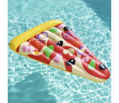 Floating Lounger Pizza Shaped Float / Swimming Mattress Summer Beach Or Pool