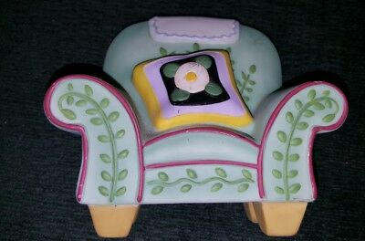 RARE Mary Engelbreit GREEN CHAIR Night Light Cover