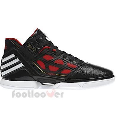 hot sale online 91778 3b620 Schuhe Adidas Adizero Derrick Rose 2 G22887 basket Herren Fashion Moda  Black Red