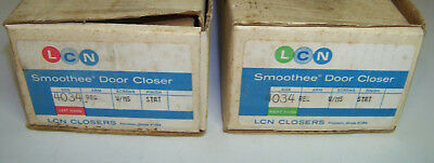 Lot of 2 LCN Smoothie Door Closers 4034 Left and Right Hand