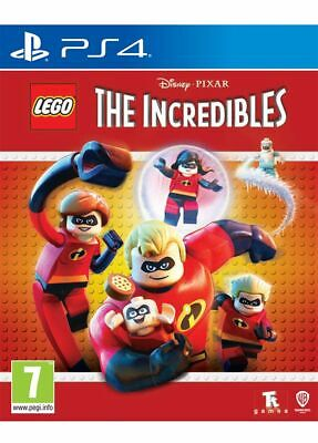 LEGO The Incredibles (PS4) Brand New & Sealed Free UK Postage
