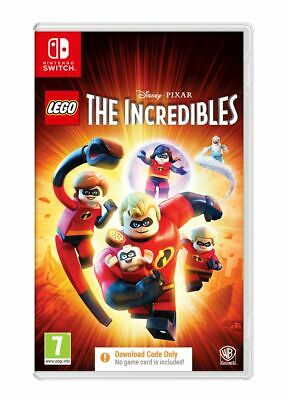 LEGO The Incredibles (Nintendo Switch) Brand New & Sealed UK PAL