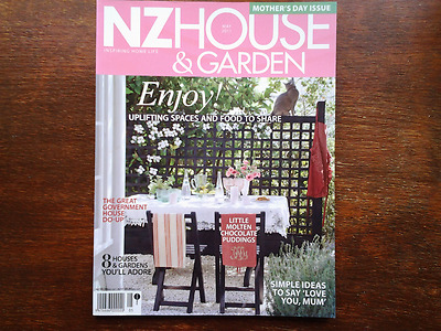 NZ House and Garden Magazine May 2011  Mothers Day Edition