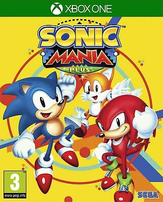 Sonic Mania Plus Inc Artbook and Sleeve (Xbox One) Brand New & Sealed UK