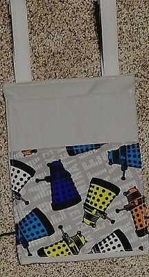 Dr Doctor Who Dalek Crutch Bag Tote Pouch Purse Water Phone Holder 2 Pockets