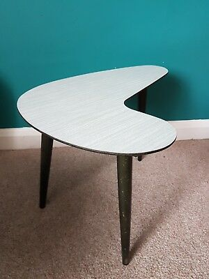 Small Mid Century TABLE Vintage Atomic Tripod Eames 1950s - 60s