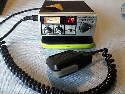 Vintage CB Radio General Electric MODEL NO.3-580F