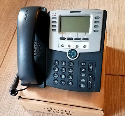 Cisco SPA509G 12-Line VoIP SIP IP Telephone Refurbished Complete SPA509