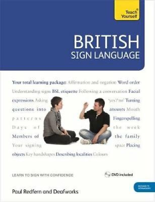 British Sign Language: Teach Yourself Book and DVD Pack 9780340991329