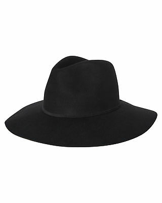 New Lack Of Color Women's Grove Hat Wool Black