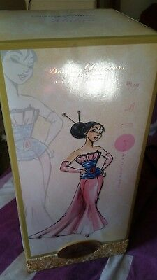 Mulan Disney Designer Princess Collection Doll Limited Edition 6000