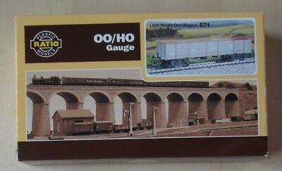 Ratio 571 - LMS Bogie Iron Ore Wagon Kit
