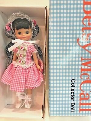 "8 in Tiny Betsy McCall ""GINGHAM GOODNESS"" TONNER Dressed Doll - NRFB~New Price!"