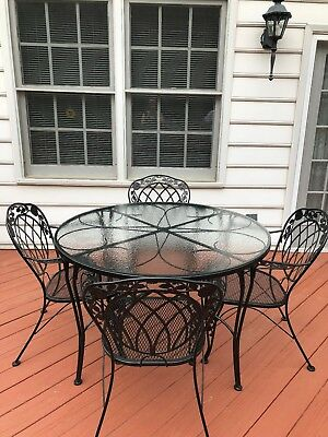 Salterini Wrought Iron Patio Set