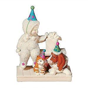 Dept 56 Snowbabies Let's Pretend It's Not A Party Without You Birthday 69388 NEW