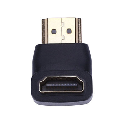 HDMI Male To Female Port 90 Degree Connector Adapter Durable New Arrival