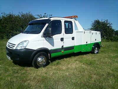 2009 (59) iveco daily 65c180 spec lift recovery truck by jerr-dan and NO VAT