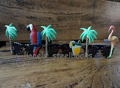 Palm Tree Fancy Dress Sunglasses Flamingo Parrot Cocktail Novelty Stag Hen Party